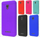 For Alcatel Fierce 4 Rugged Rubber SILICONE Soft Gel Skin Case Cover Accessory