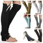 Gift Women Fashion Knee High Stockings Girls Warm Knitted Boot Socks