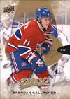 2016-17 Upper Deck MVP Hockey #131 Brendan Gallagher Montreal Canadiens