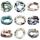 Fashion Baby Toddlers Winter Neck Scarf Kids Boy Girls Pattern Collar Wrap Scarf