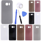 For Samsung S7 Edge Glass Rear Panel Replacement Battery Back Door Cover + Tools