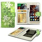 For HTC One X9 - Clip On Design PU Leather Wallet Case Cover