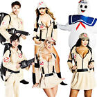 Ghostbusters Fancy Dress 80s Halloween Adults Kids Childrens 1980s Costume New