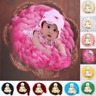 Newborn Baby Photography Photo Prop Infant Backdrop Knit Throw Blanket Rug MO
