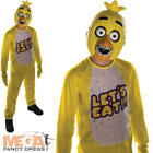 Chica Fancy Dress Kids Childs Five Nights at Freddy's Boys Halloween Costume New