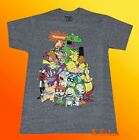 New Nickelodeon 90's Group Men's Vintage Classic Retro T-Shirt