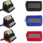 RFID BLOCKING CREDIT CARD HOLDER GENUINE LEATHER SAFETY WALLET MODISH COIN PURSE