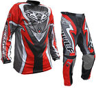 Wulf Attack Cub Jersey & Pants Red Kit MX Motocross Off Road Enduro GhostBikes
