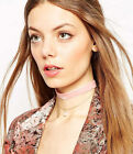 Velvet Retro Handmade 1pcs Womens 1920's Choker Collar Necklace Fashion