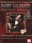Barry Galbraith Guitar Solos Volume 2 TAB Music Book with Audio 13 Standards