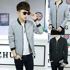New Men's fashion casual collar jackets coat badges Windbreaker jacket
