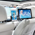 Universal 360° Car Backseat Headrest Dual Mount Holder for Cell Phone iPad Air 2