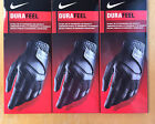 3 NEW 2017 NIKE DURAFEEL GOLF GLOVES BLACK LEFT HAND THREE GLOVE!