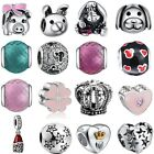 New European Silver Animal Charm Beads Fit Bracelets Bangle Necklaces Chain Ring