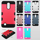 For Alcatel Ideal Premium Fleek Two Tone Wallet Flip Case Cover +Screen Guard