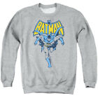 Batman DC Comics Vintage Running Pose Adult Crewneck Sweatshirt