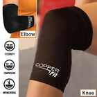 Black Knee Compression Leg Support Brace Joint Pain Relief Sports Fitness Copper