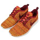 Wmns Nike Roshe One Flyknit Orange Red Mens Running Shoes Sneakers 704927-600