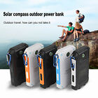 Waterproof 50000mAh 2USB Solar Power Bank 2LED Battery Charger For Mobile Phones