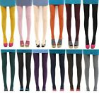 1X Women Colors Candy Opaque Footed Socks Tights Slim Pantyhose Stockings