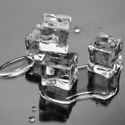 5/15PCS Crystal Fake Acrylic Clear Crystal 2.5cm Square Ice Cubes Bar Party Tool