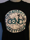 GONG CAMEMBERT ELECTRIQUE MENS MUSIC T SHIRT