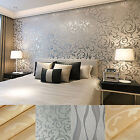 3D Luxury Victorian Embossed Wallpaper Feature Brick Effect Wall Paper Rolls 10M