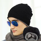 Chic Men Knitting Slouchy Beanie Cap Baggy Winter Hat Oversize Unisex