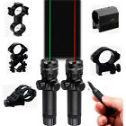 Tactical Green/Red Laser Sight + Picatinny Mount + Remote for Rifle Air Gun