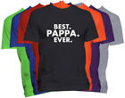 BEST PAPPA EVER T-Shirt PAPPA Holiday Christmas Gift Family Nickname Tee