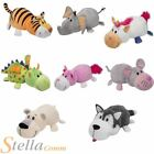 Flip A Zoo 2 In 1 Reversible Soft Plush Animal Toys