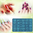 11 New Design DIY Nail Art Image Stamp Stencil Stamping Plates Manicure Template