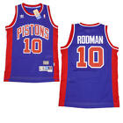 Dennis Rodman #10 Detroit Pistons Adidas NBA Soul Retro Swingman Jersey SMALL on eBay