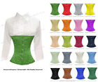 Heavy Duty Double Steel Boned Waist Training Satin Underbust Shaper Corset