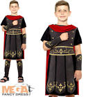 Roman Soldier Boys Ancient Greek Rome Historical Gladiator Childs Kids Costume