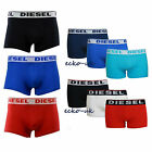 Mens New Diesel Boxer Shorts 3 Pack Cotton Stretch Trunks Designer Shawn Pants