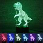3d Led Night Light 7 Color Touch Switch Table Desk Lamp Birthday Christmas Gift