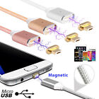 2.4A Micro USB Charging Cable Magnetic Adapter Charger For Samsung Android Lot