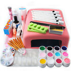 Nail Art Tools Set 36W UV Lamp Dryer +12 Color UV Gel Nails Tips Polish Kit