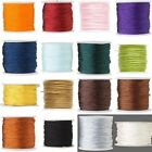 IMITATION SILK MACRAME CORD FOR BEADS BEADING JEWELRY CORDING 100 FEET 1MM