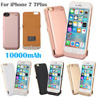 10000mAh External Power Bank Pack Backup Battery Charger Case for iPhone7 7 Plus