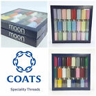 MOON SPUN polyester thread assortment brights or pastels box of 24