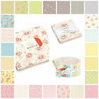 MODA FLEURS 100% cotton floral jelly rolls layer cakes charm packs & fabrics