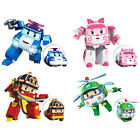 4Pcs Robocar Poli Transformation Robot Car Toys Poli Robocar Korea Xmas Gift Set