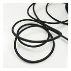 2 METERS TOP QUALITY ELASTICATED 3mm BLACK or WHITE CORD ELASTIC CORDING TRIM UK