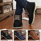 HOT Men's Fashion Lace Up Flange Martin Boots Casual Winter Customize Skate Shoe