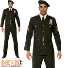 Military Army Officer 1940s Fancy Dress Mens James Bond Costume Adult Outfit New £47.99 GBP on eBay