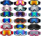 "Small Kids Boys Girls Snow Goggles ""Tailgrab"" Anti-Fog Snowboarding Color Frame"
