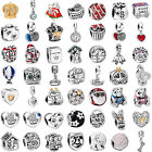 Hot European Charms Bead Xmas Silver Fit Diy Bracelet Bangle Necklace Chain Ring