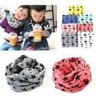 Hot Kids Girls Boys Casual Warm Stars Printed Snood Outdoor Neck Warmer Scarves
